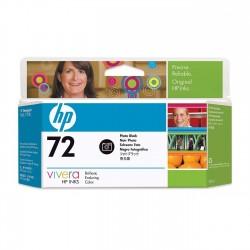 HP Cartouche d'encre noire photo 72130-ml