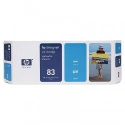 HP Cartouche d'encre cyan UV 83 (680 ml)