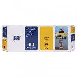 HP Cartouche d'encre jaune UV 83 (680 ml)