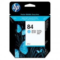 HP 84 Cartouche d'encre cyan clair (69 ml)