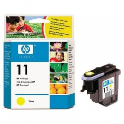 HP Tête d'impression jaune HP 11