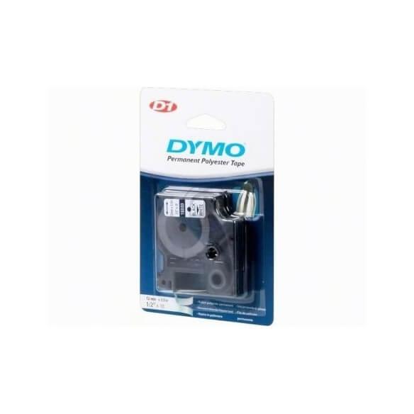 DYMO 16959 12mm Ruban D1 Polyester Permanent 12mm x 5.5m (photo)