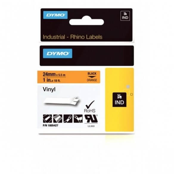 Consommable DYMO 1805427 Rhino Bande Vinyle Adhésive Permanen...