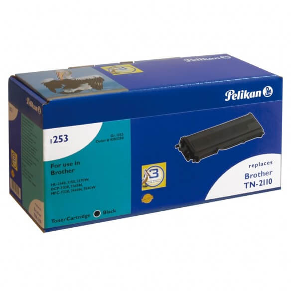 Consommable PELIKAN  toner compatible Noir Brother TN-2110
