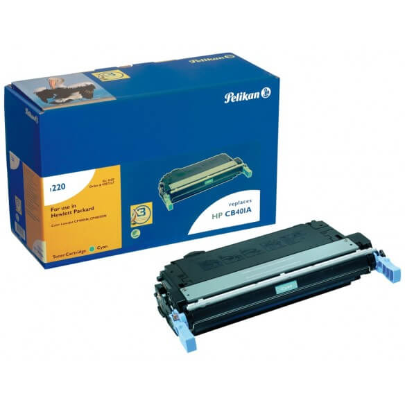 PELIKAN  toner compatible Cyan HP CB401A/642A (photo)