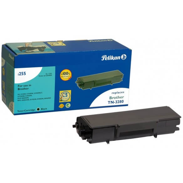 Consommable PELIKAN  toner compatible Noir Brother TN-3280