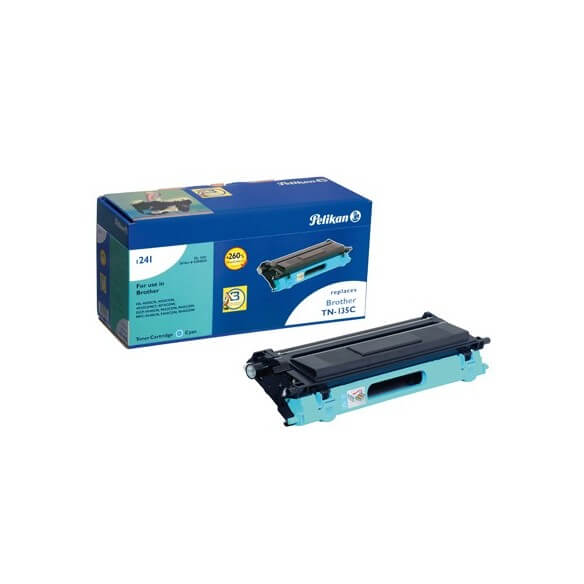 PELIKAN  toner compatible Cyan Brother TN-135C (photo)