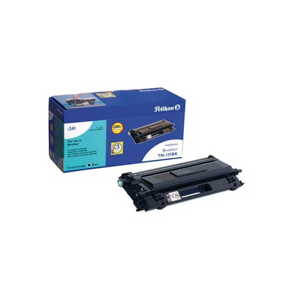 Consommable PELIKAN  toner compatible Noir Brother TN-135BK