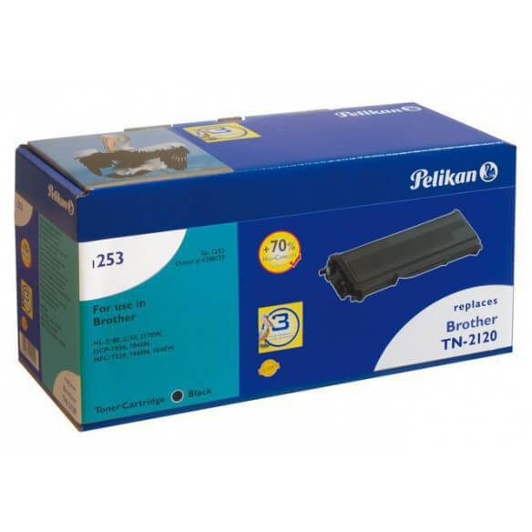 Consommable PELIKAN  toner compatible Noir Brother TN-2120