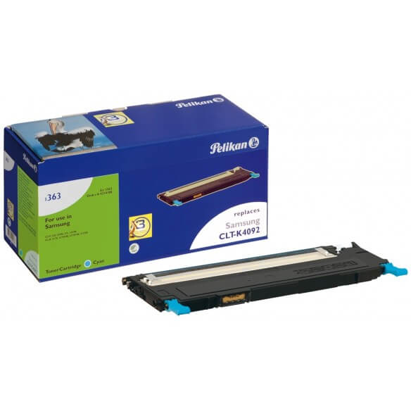 PELIKAN  toner compatible Cyan Samsung CLP-C4092S (photo)