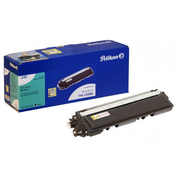 Consommable PELIKAN  toner compatible Noir Brother TN230 BK