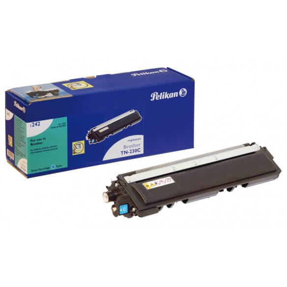 Consommable PELIKAN  toner compatible Cyan Brother TN230 C