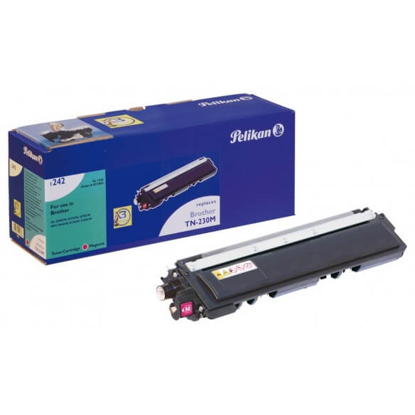 Consommable PELIKAN  toner compatible Magenta Brother TN230 M