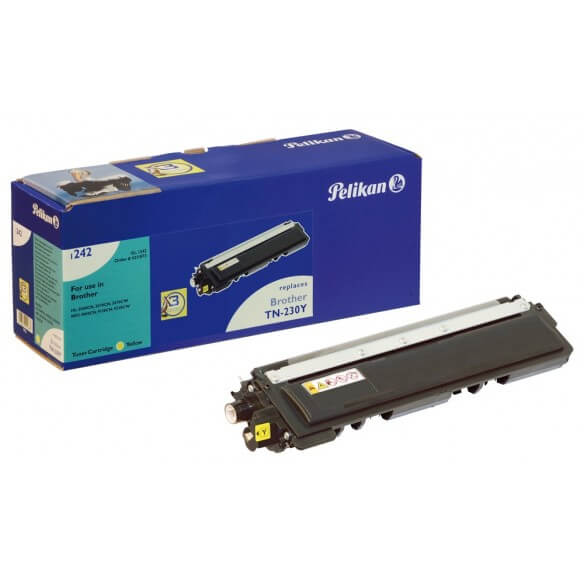 Consommable PELIKAN  toner compatible Jaune Brother TN230 Y