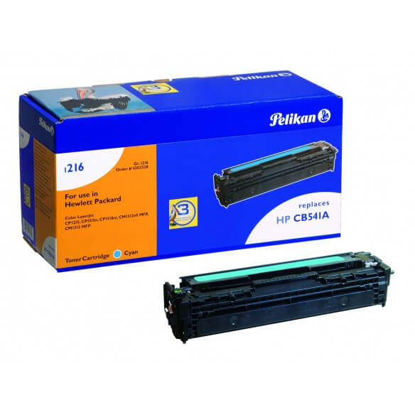 PELIKAN  toner compatible Cyan HP/Canon CB541A/716C (photo)