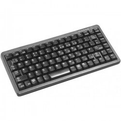 Cherry Compact keyboard, Combo (USB + PS/2), FR
