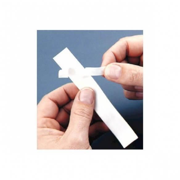 Dymo Ruban étiquette - Polyester Blanc 12mm (photo)