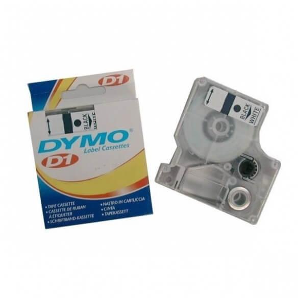 Dymo Ruban D1 - 12 Mm Noir Sur Jaune (photo)