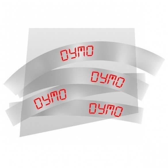 Dymo Ruban 12mm Roug Sur Trans Pour Lp15 (photo)