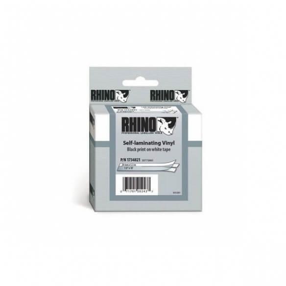Dymo Ruban 24mm Vinyl Blanc Pour Rhino 6000 (photo)