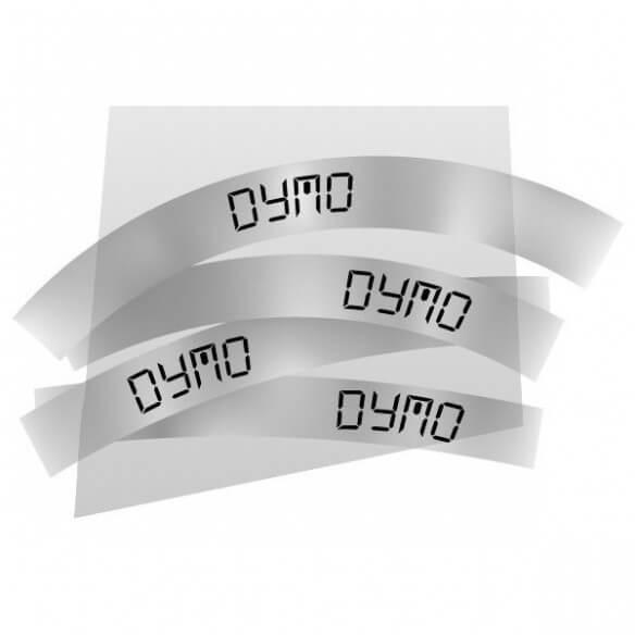 Dymo Ruban 9mm Noir Sur Trans Pour Lp1 (photo)