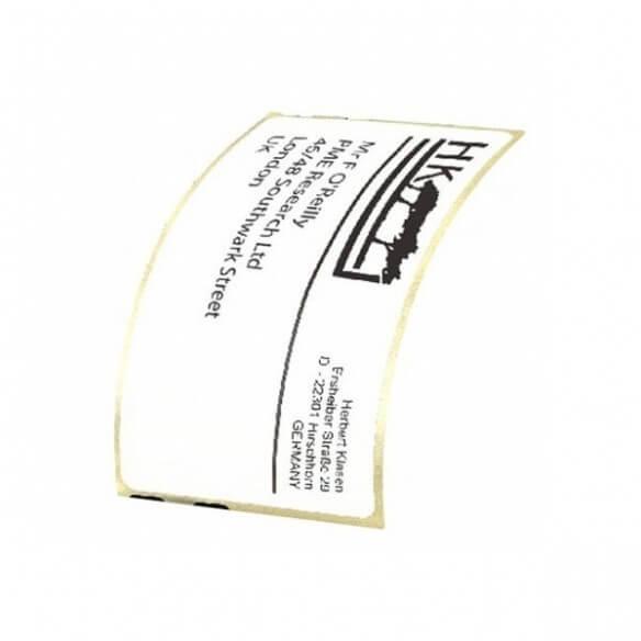 Dymo Rouleau De 220 étiquettes Badge 101 X 54 Mm (photo)