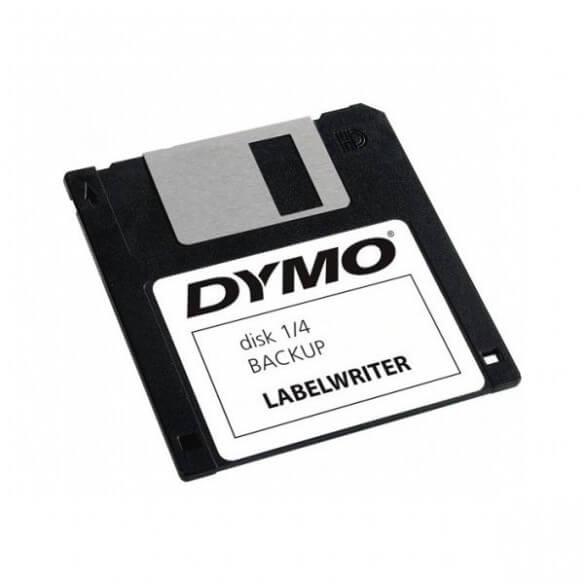 Dymo Rouleau 320 Etiquettes Disket 54x70mm Pour Labelwri (photo)
