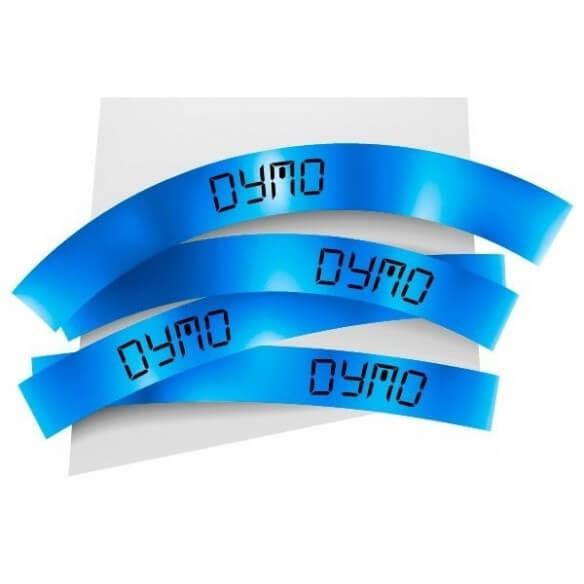 Dymo Ruban 24mm Noir Sur Bleu Pour Labelmanager 300/450 (photo)