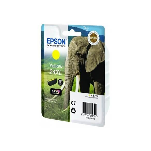 Consommable Epson Cartouche 'Eléphant' - Encre Claria Photo HD J (XL)