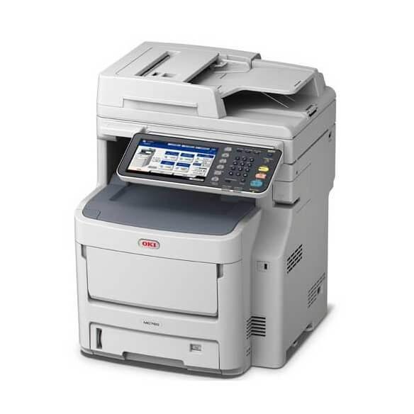 Imprimante OKI MC760dn - Multifonction Laser Couleur