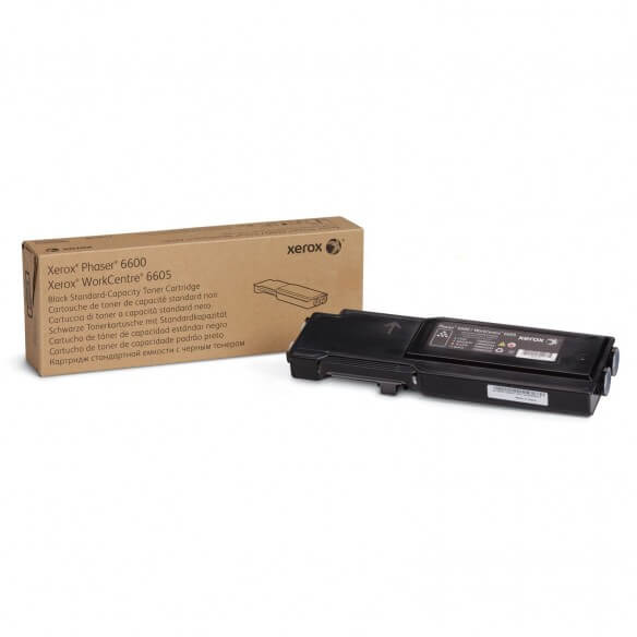 Consommable Xerox Toner Noir Capacité standard 3000 pages pour Phaser 6600 / WorkCentre 6