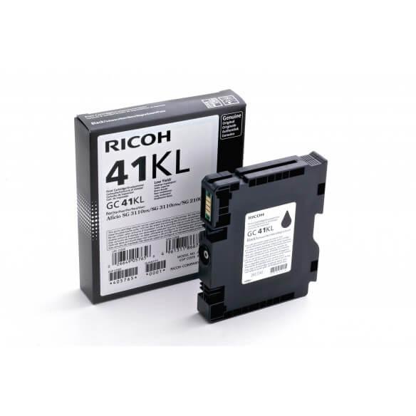 Consommable Ricoh GC41KL Cartouche d'encre noire