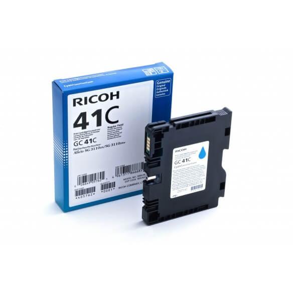 Consommable Ricoh GC41C Cartouche d'encre cyan