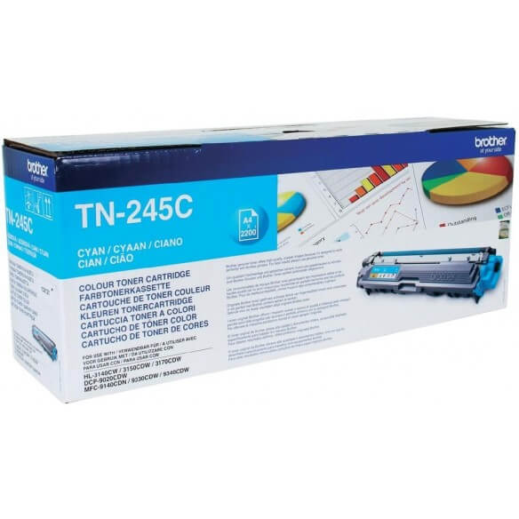 Brother TN-245C Toner cyan 2200 pages