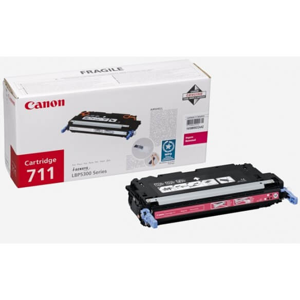 Canon 711 M cartouche de toner magenta d'origine 6000 pages pour MF9220CDN / MF9280CDN / LBP5360