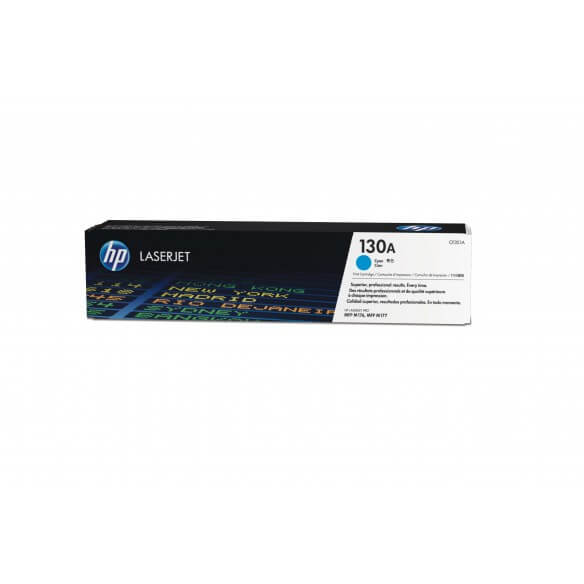 HP 130A Cyan LaserJet Toner (photo)