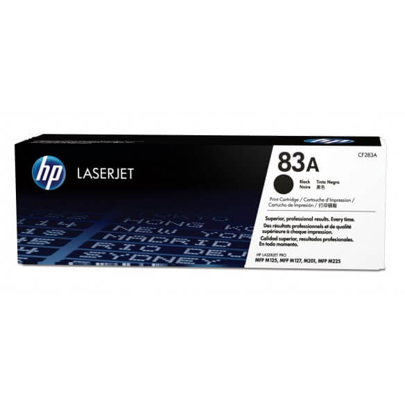 HP 83A Toner noir LaserJet (photo)