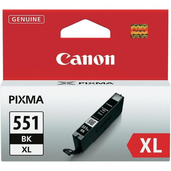 Consommable Canon CLI-551XL BK