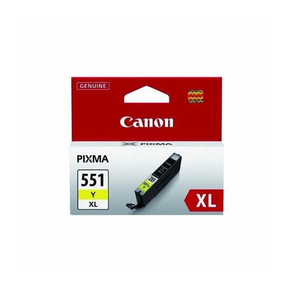 Consommable Canon CLI-551XL Y