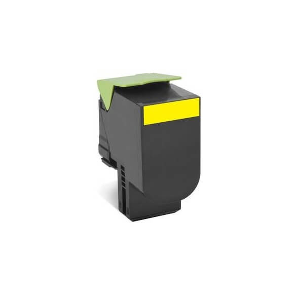 Consommable Lexmark 802HY Yellow High Yield Return Program T