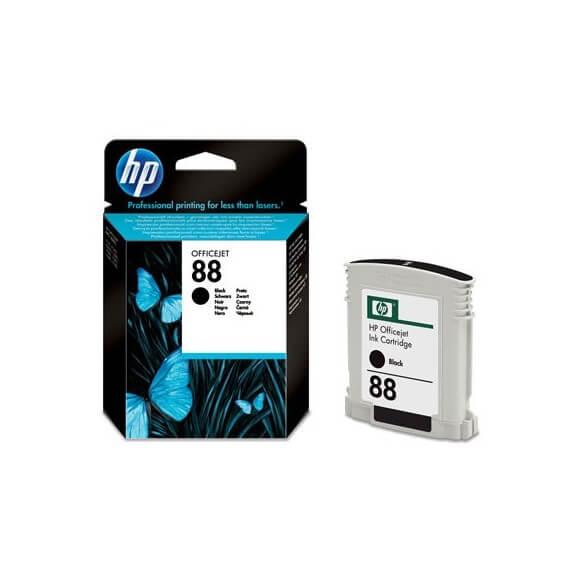 Consommable HP Cartouche d'encre Officejet noire HP88