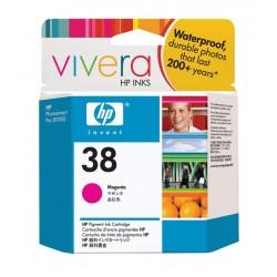 HP Cartouche d'encre pigmentée magenta HP38