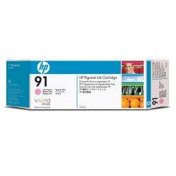 HP Cartouche d'encre à pigments magenta clair 91 775ml