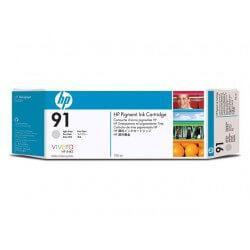 HP Cartouche d'encre à pigments gris clair 91 775ml