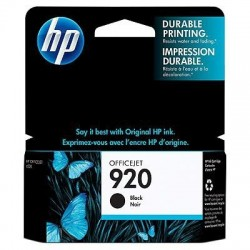 HP Cartouche d'encre Officejet noire HP920