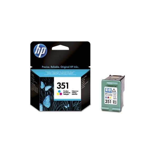Consommable Hp 351 Cartouches d'encre noir/3 couleurs