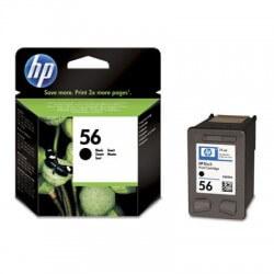 HP cartouche d'encre noir n°56 (19 ml)