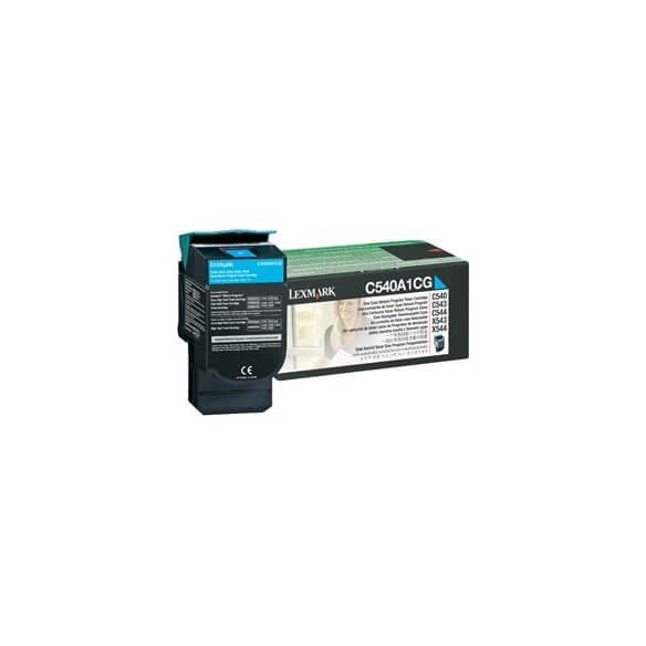 Consommable Lexmark Toner f C54x/X54x Cyan LRP