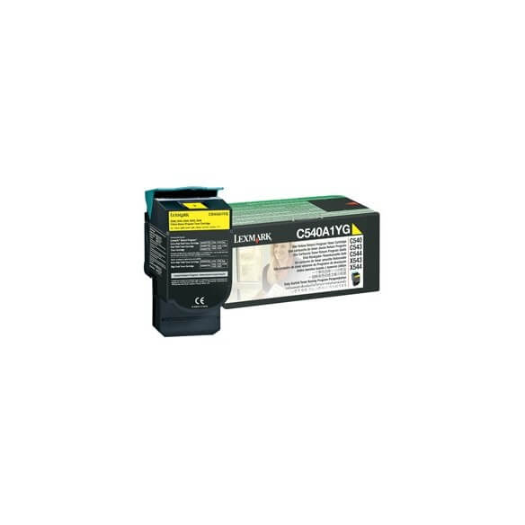 Consommable Lexmark Toner f C54x/X54x yellow LRP