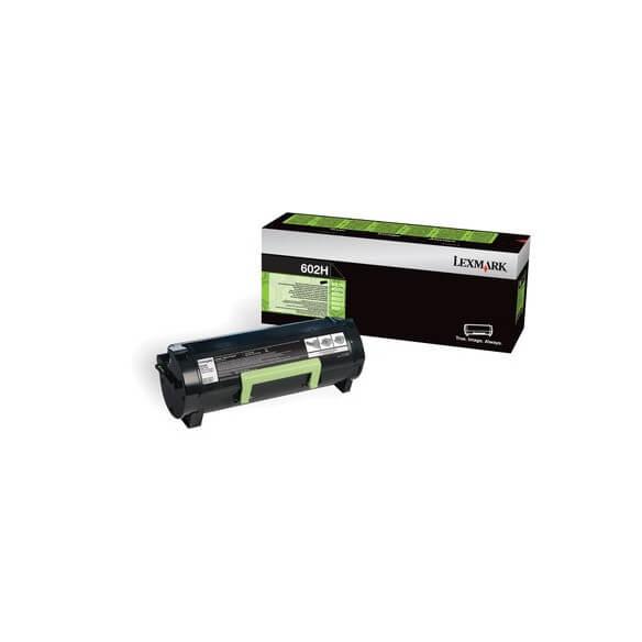 Consommable Lexmark 602H Toner Return Prog high yield